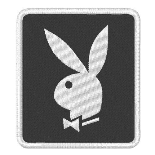 AUFNÄHER PATCH Bunny PLAYBOY HASE 7x8cm