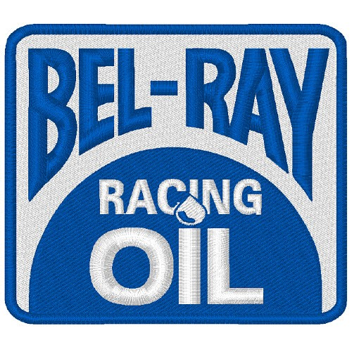 AUFNÄHER PATCH BEL-RAY BEL RAY RACING NASCAR 8x7cm