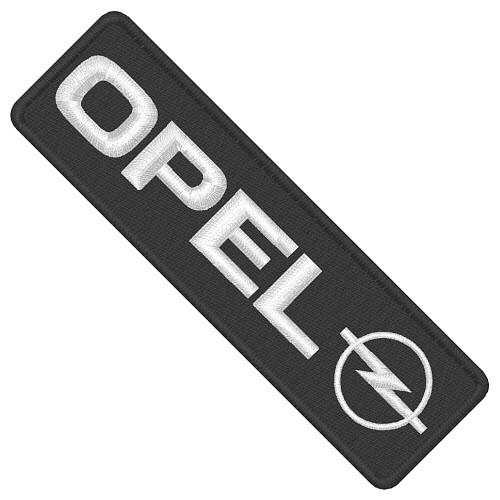AUFNÄHER PATCH OPEL 15x3,6cm
