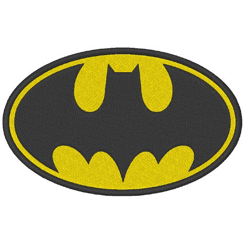 AUFNÄHER PATCH Batman 10x7,4cm
