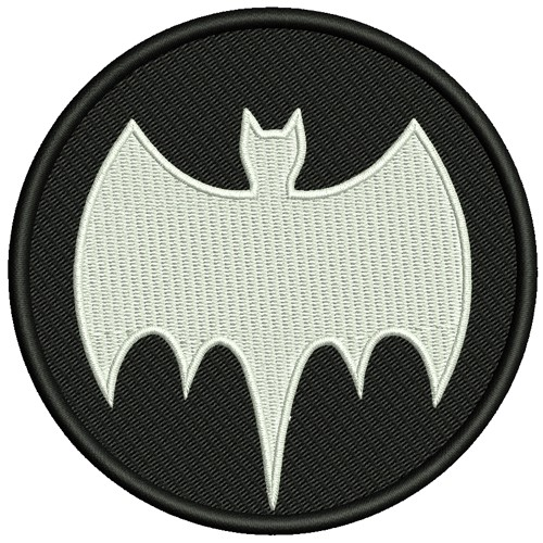 AUFNÄHER PATCH Batman D=10cm