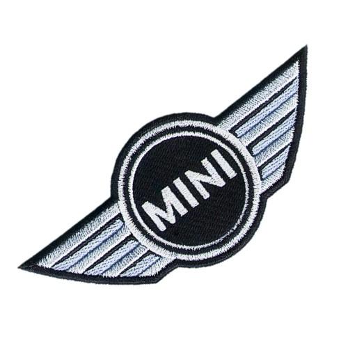 AUFNÄHER PATCH BMW MINI COOPER 12x5,5cm