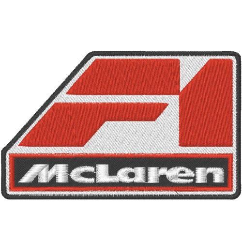 AUFNÄHER PATCH Formel 1 MC LAREN 10x6cm
