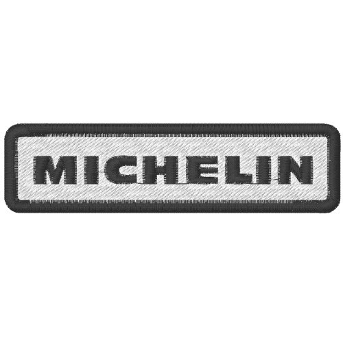 AUFNÄHER PATCH MICHELIN 10x2,6cm