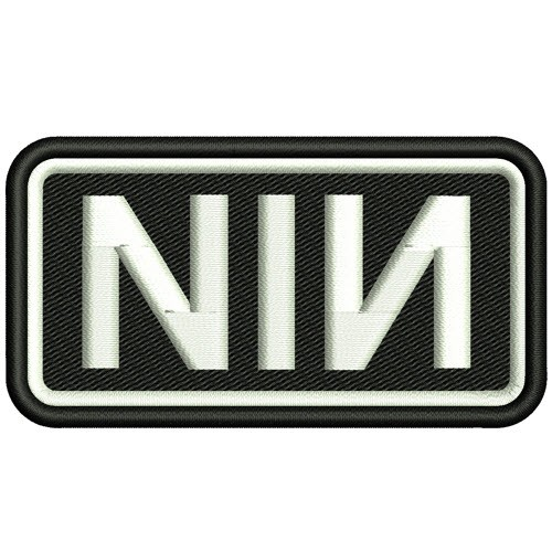 AUFNÄHER PATCH Nine Inch Nails NIN 8x4cm