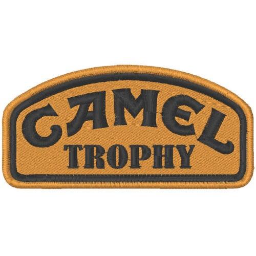 AUFNÄHER PATCH CAMEL TROPHY 10x5cm