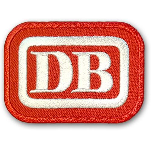 PATCH AUFNÄHER DB DEUTSCHE BAHN BUNDESBAHN 7x5cm