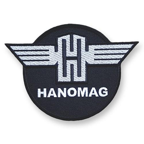 PATCH AUFNÄHER HANOMAG TRAKTOR TRUCK 11x8,5cm