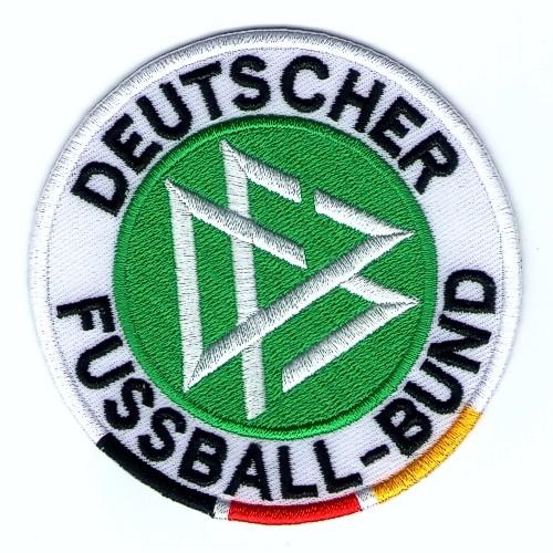 Fußball Aufnäher PATCH DFB D=8cm
