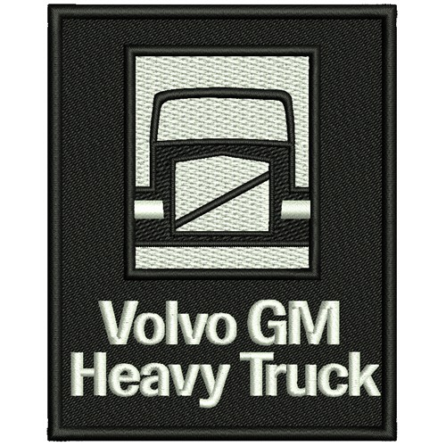 TRUCKER FAN PATCH AUFNÄHER VOLVO GM 8x10cm