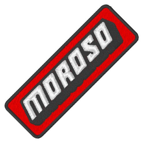 RACING FAN AUFNÄHER PATCH MOROSO 9x3cm