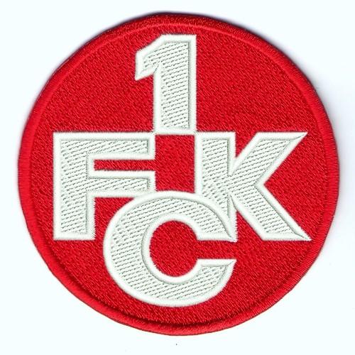 Fußball Aufnäher 1. FC Kaiserslautern D=8cm