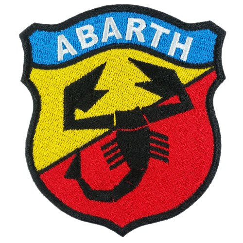 AUTO FAN AUFNÄHER PATCH ABARTH 8x9cm