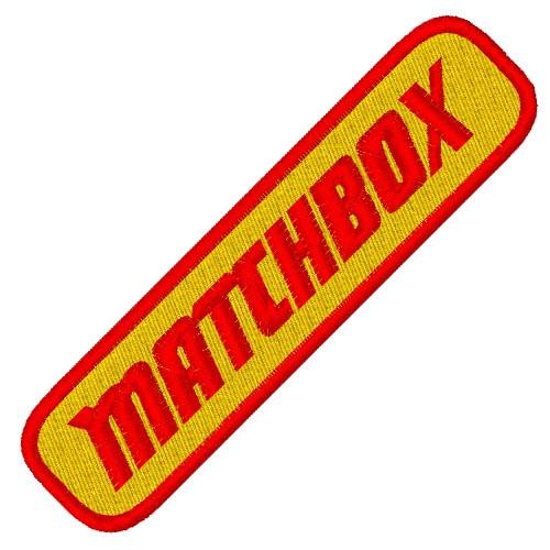 FAN AUFNÄHER PATCH MATCHBOX 10x2,5cm