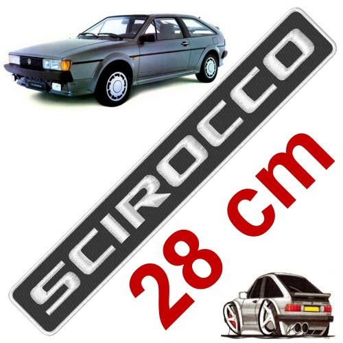 VW FAN AUFNÄHER PATCH SCIROCCO 28x4,5cm