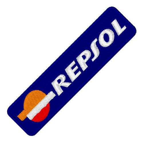 RACING FAN AUFNÄHER PATCH REPSOL 10x2,5cm