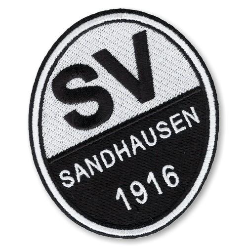 Fußball Aufnäher SV Sandhausen 6,5x8cm