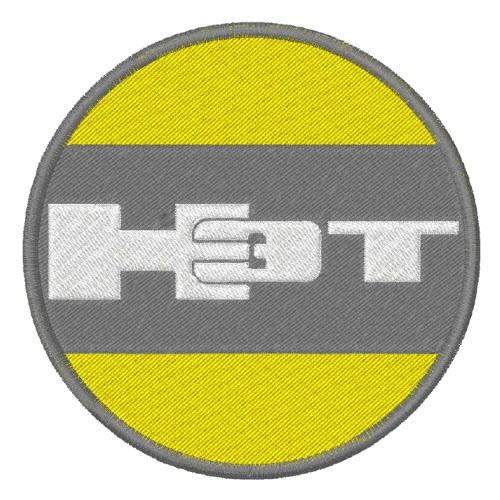 TRUCK FAN AUFNÄHER PATCH HUMMER H3T D=8cm