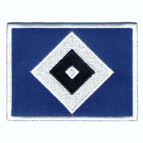 Fußball Aufnäher HSV Hamburger Sport-Verein 8x5cm