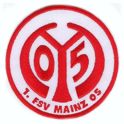 Fußball Aufnäher 1. FSV MAINZ 05 D=8cm