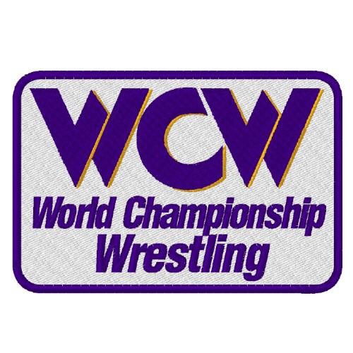 WRESTLING AUFNÄHER PATCH WCW CHAMPIONSHIP 12x6cm