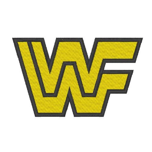 WRESTLING AUFNÄHER PATCH WWF 8x5cm