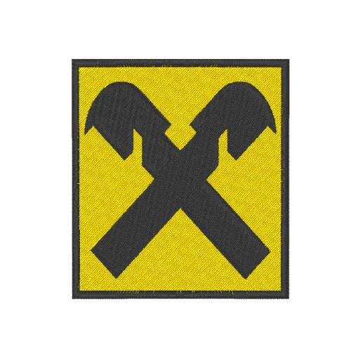 ÖSV SKI FAN AUFNÄHER PATCH RAIFFEISEN 5x5,5cm