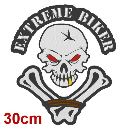 BIG ANGELS FAN AUFNÄHER PATCH EXTREME BIKER 30x35cm