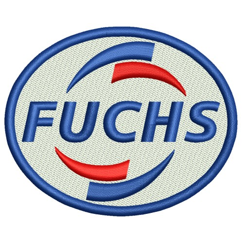 RACING TUNING KART AUFNÄHER PATCH FUCHS OIL 8x6,5cm