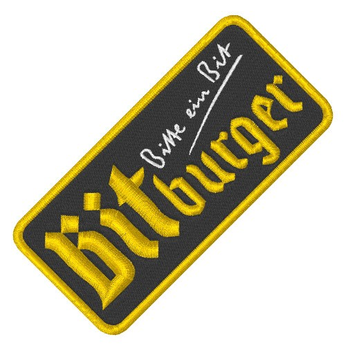 FORMEL 1 RACING TUNING PATCH AUFNÄHER BITBURGER 10x5cm