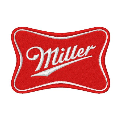 MILLER RACING TUNING KART F1 PATCH AUFNÄHER 8x5cm