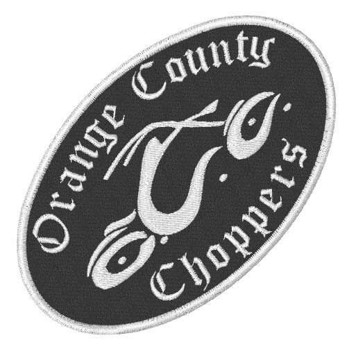 ORANGE COUNTY CHOPPERS BIKER PATCH AUFNÄHER 10x6cm