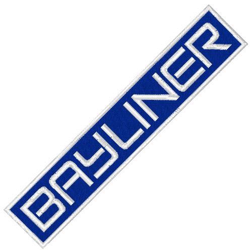 BAYLINER SPORT BOOT RACING PATCH AUFNÄHER 10x2cm