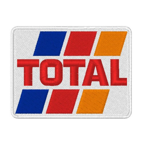 TOTAL RALLY RACING PATCH AUFNÄHER 8x6cm