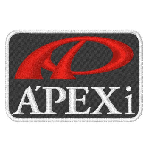 A´PEXi APEX NASCAR RALLY RACING PATCH AUFNÄHER 8x5,5cm