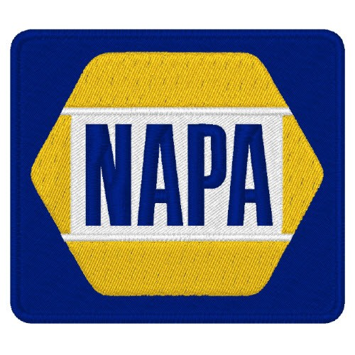 NAPA NASCAR RALLY RACING PATCH AUFNÄHER 8x7cm