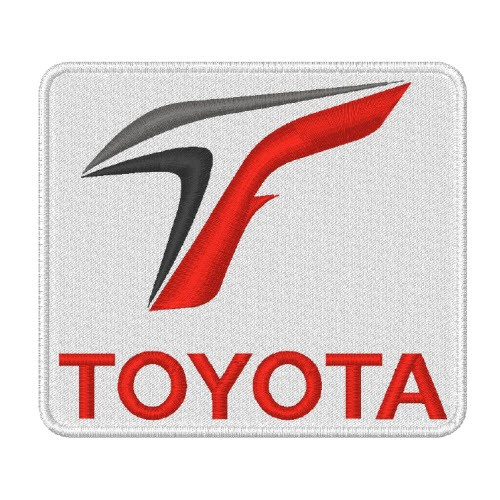 TOYOTA SPORT RALLY RACING PATCH AUFNÄHER 8x7cm