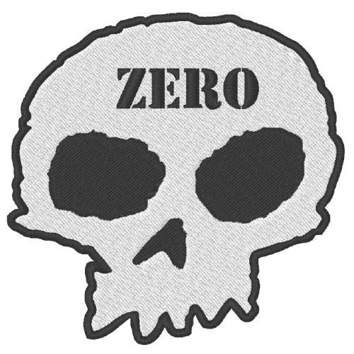 ZERO AUFNÄHER PATCH APPLICATION 8x8cm z. aufbügeln