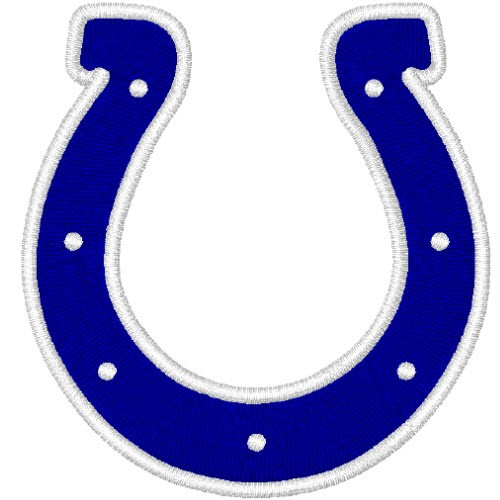 INDIANAPOLIS COLTS FOOTBALL AUFNÄHER PATCH 6x6,3cm