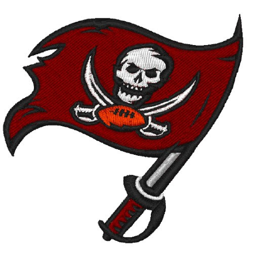 TAMPA BAY BUCCANEERS FOOTBALL AUFNÄHER PATCH 6,6x6,3cm