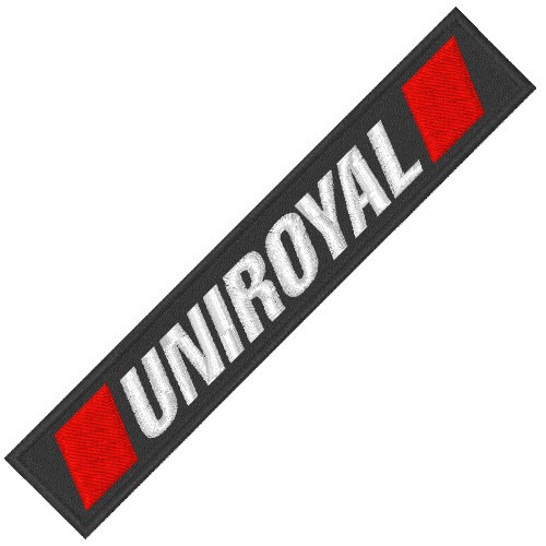 RACING TUNING KART F1 AUFNÄHER PATCH UNIROYAL 11x2cm