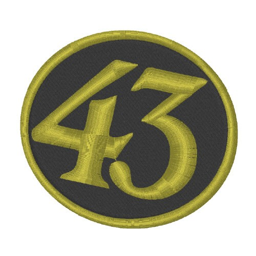 SPONSOREN RACING F1 AUFNÄHER PATCH LICOR 43 8x7,5cm