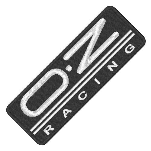 RACING TUNING FELGEN KART AUFNÄHER PATCH OZ 10x3,5cm
