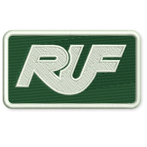 RACING TUNING KART AUFNÄHER PATCH RUF 8x4,5cm