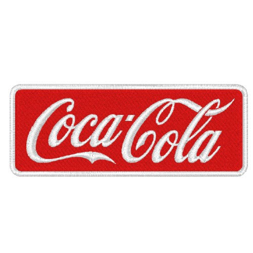 RACING TUNING SPONSOREN AUFNÄHER PATCH COCA COLA 8x3cm