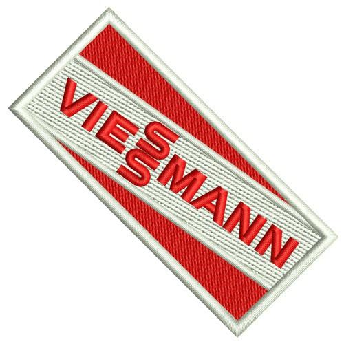 Sport SKI FAN AUFNÄHER PATCH VIESSMANN 100% gestickt 8x3,5cm