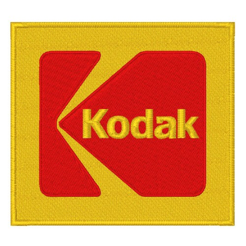 KODAK RALLY RACING PATCH AUFNÄHER APLIKATION 8x7,5cm