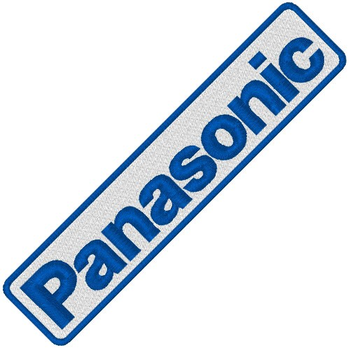 PANASONIC RALLY RACING PATCH AUFNÄHER APLIKATION 10x2cm