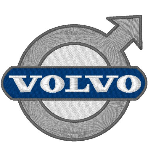 VOLVO TRUCK AUTO RACING RALLY FAN AUFNÄHER PATCH 8x7cm
