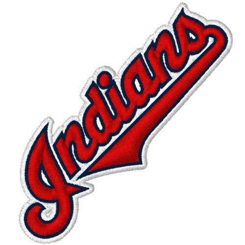 CLEVELAND INDIANS BASEBALL FAN AUFNÄHER PATCH 8x3cm